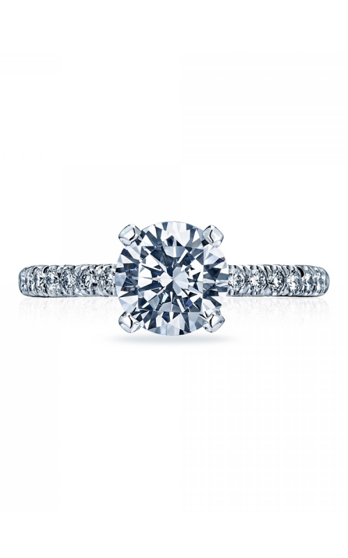 Tacori Petite Crescent Engagement ring HT2545RD75PK product image