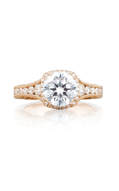 Tacori Reverse Crescent Engagement ring HT2515RD812XPK product image