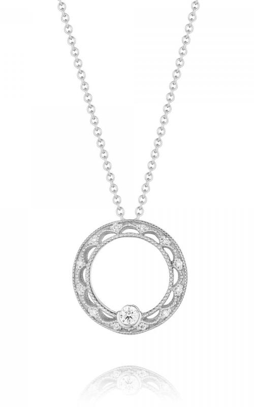 Tacori Reverse Crescent Necklace FP655PT product image