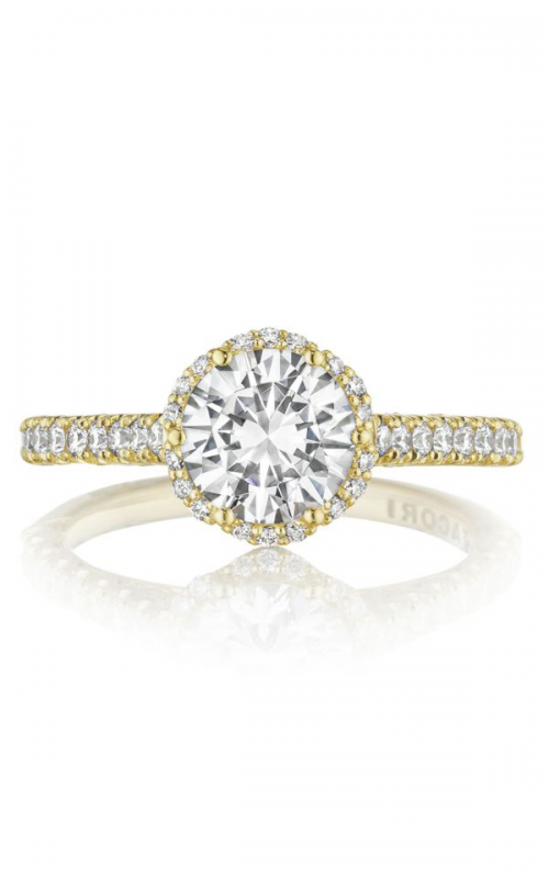 Tacori Petite Crescent Engagement ring HT2547RD7Y product image