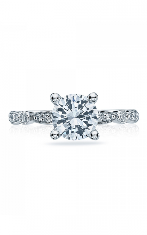 Tacori Sculpted Crescent engagement ring 47-2RD7W product image