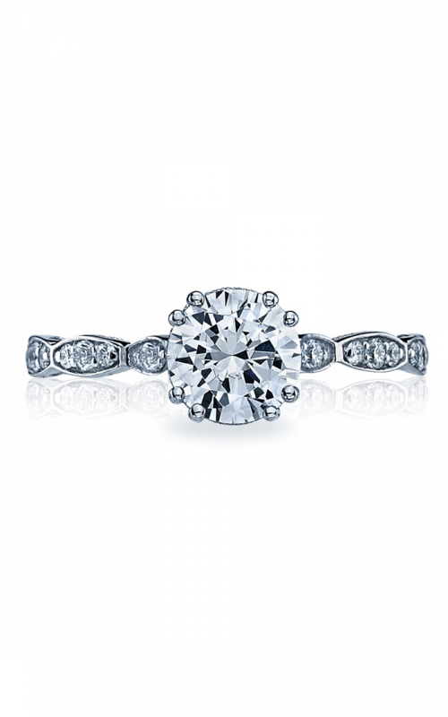 Tacori Sculpted Crescent Engagement ring 57-2RD65W product image