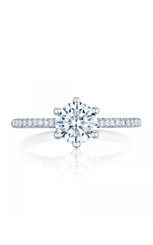 Tacori Petite Crescent Engagement ring HT254615RD65W product image