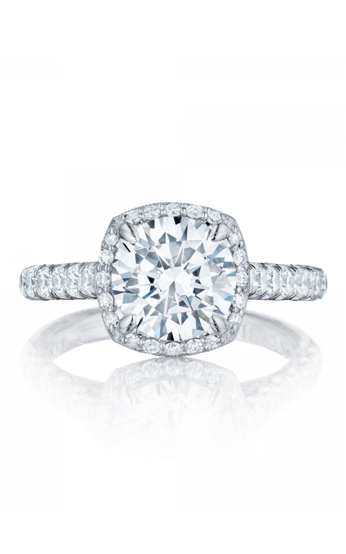 Tacori Petite Crescent Engagement ring HT254725CU85PK product image