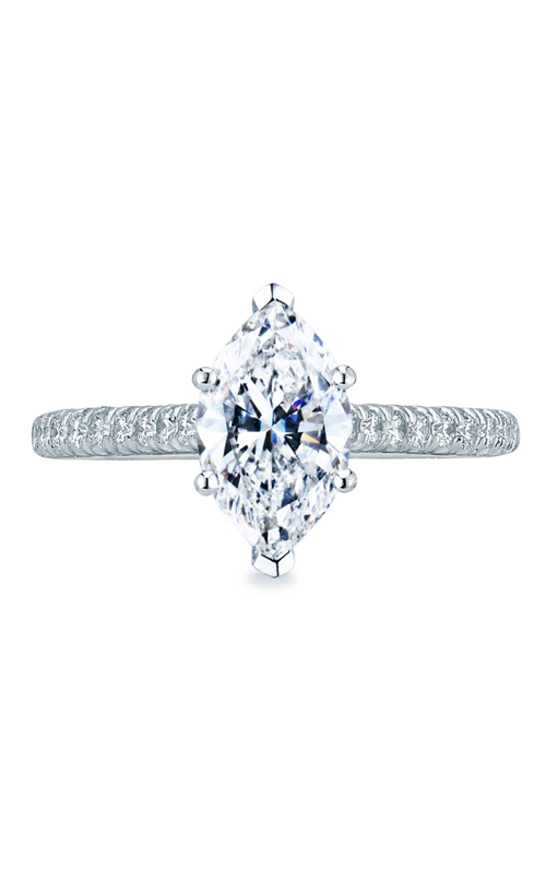 Tacori Petite Crescent Engagement ring HT2546MQ10x5 product image
