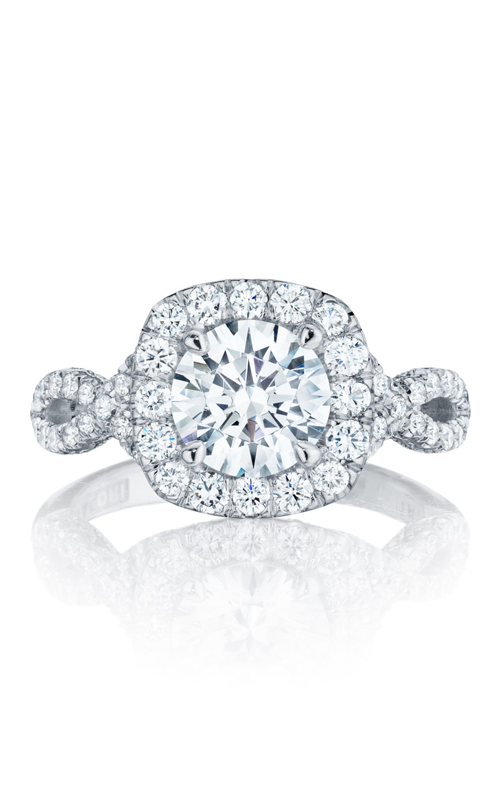 Tacori Petite Crescent Engagement ring HT2549CU75PK product image