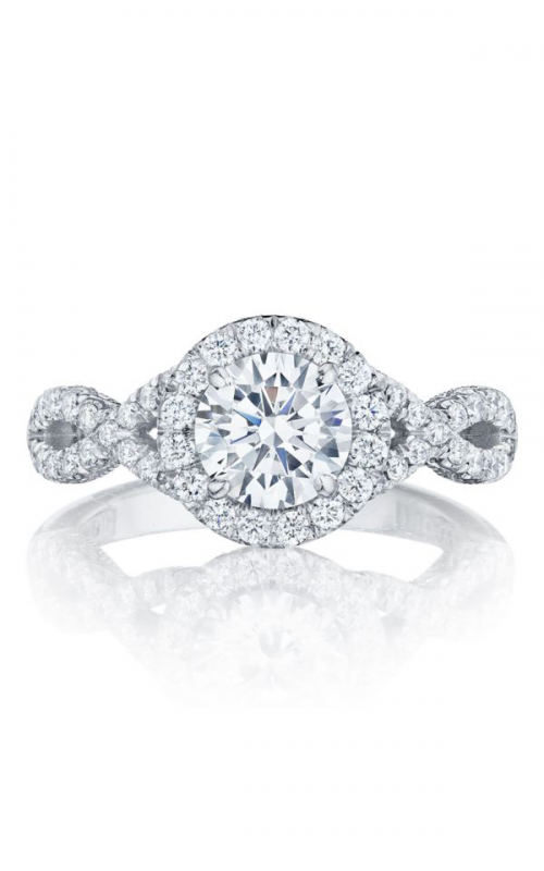 Tacori Petite Crescent Engagement ring HT2549RD65PK product image