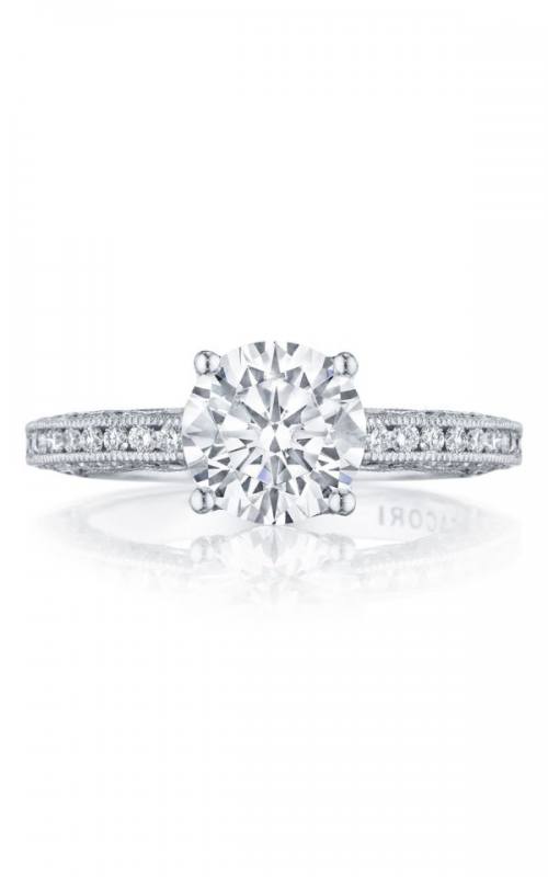 Tacori Classic Crescent Engagement ring HT2553RD8W product image