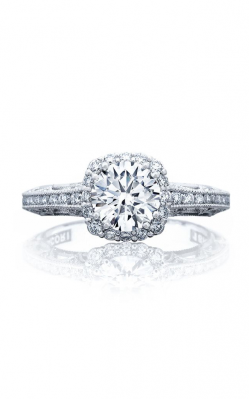Tacori Reverse Crescent Engagement ring 2618CU65PK product image