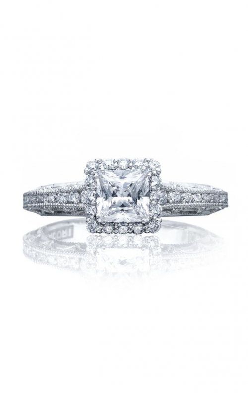 Tacori Reverse Crescent Engagement ring 2618PR5PK product image