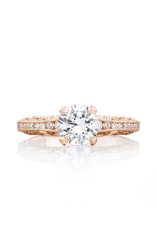 Tacori Reverse Crescent Engagement ring 2617RD65PK product image