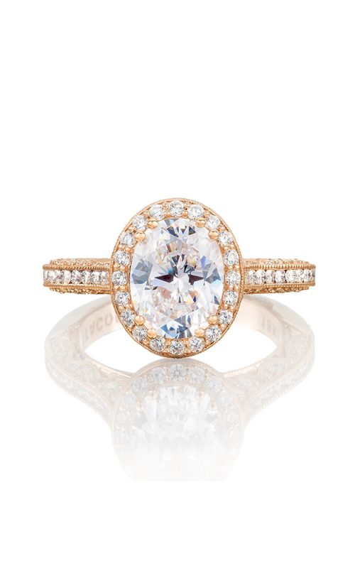 Tacori Classic Crescent Engagement ring HT2550OV9X7PK product image