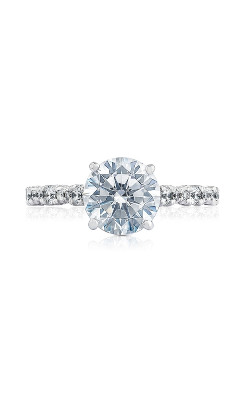 Tacori Petite Crescent Engagement ring HT2558RD8W product image