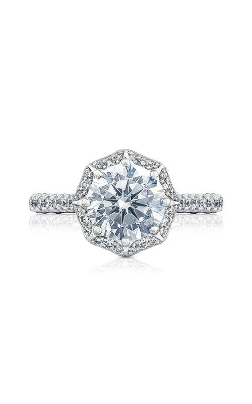 Tacori Petite Crescent Engagement ring HT2555RD8W product image