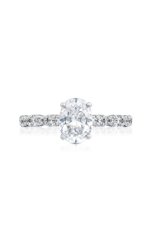 Tacori Petite Crescent Engagement ring HT2558OV8X6PK product image