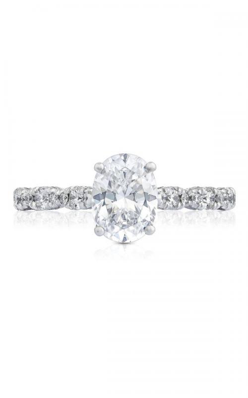 Tacori Petite Crescent engagement ring HT2558OV8X6PK product image