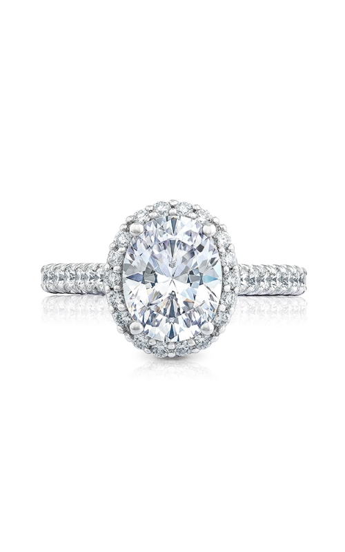 Tacori Petite Crescent Engagement ring HT254725OV95X75PK product image