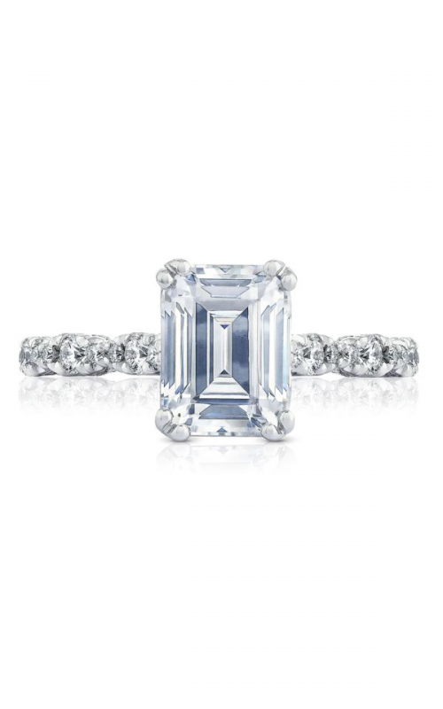 Tacori Petite Crescent Engagement ring HT2558EC85X65PK product image