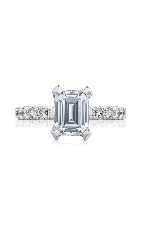 Tacori Petite Crescent Engagement ring HT254525EC85X65PK product image