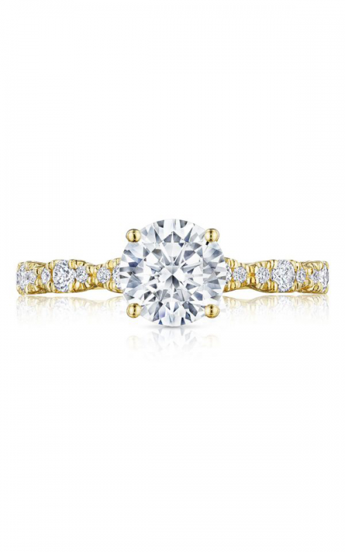 Tacori Petite Crescent Engagement ring HT2559RD7Y product image