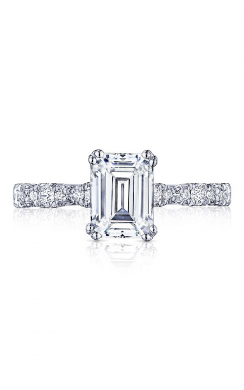 Tacori Petite Crescent Engagement ring HT2559EC8X6W product image