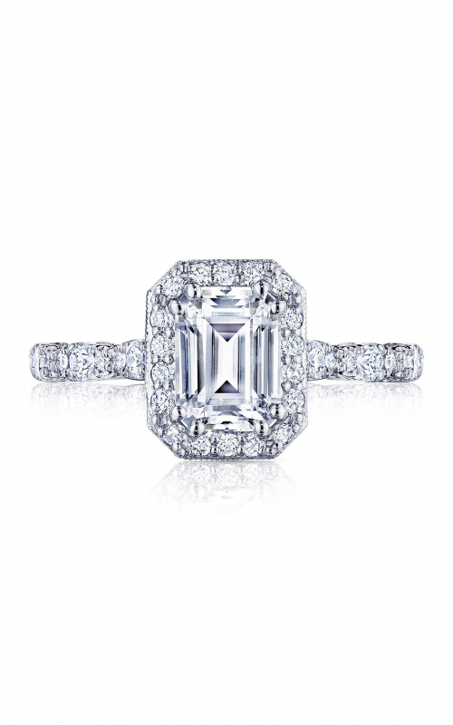 Tacori Petite Crescent Engagement ring HT2560EC75X55W product image