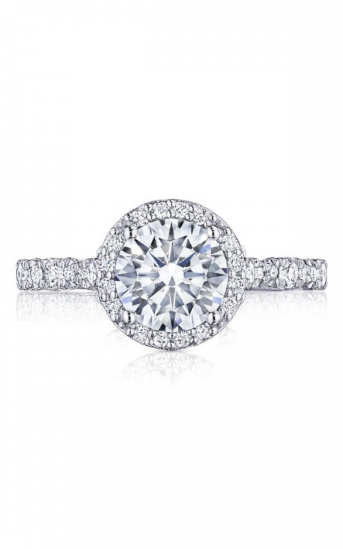 Tacori Petite Crescent Engagement ring HT2560RD75PK product image