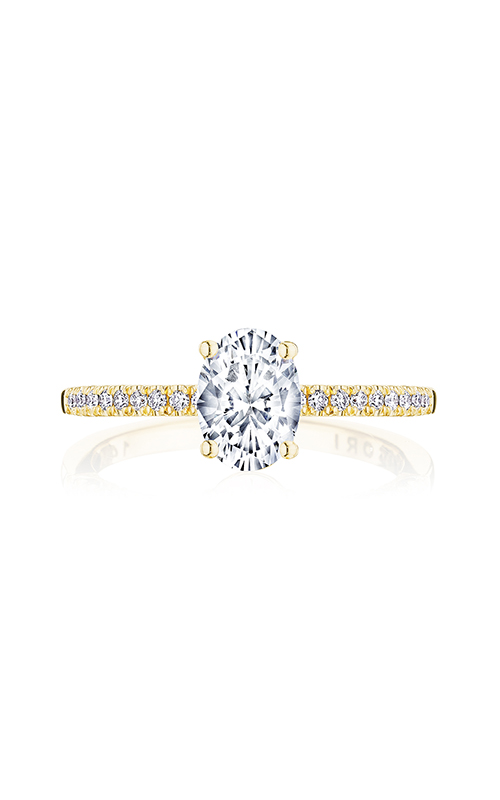 Tacori Coastal Crescent Engagement ring P104OV75X55FY product image