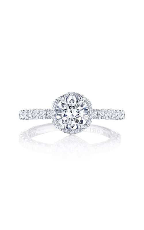 Tacori Petite Crescent Engagement ring HT2572RD65PK product image