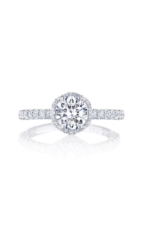 Tacori Petite Crescent engagement ring HT2572RD65PK product image