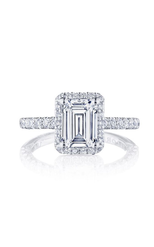 Tacori Petite Crescent Engagement ring HT2572EC8X6W product image