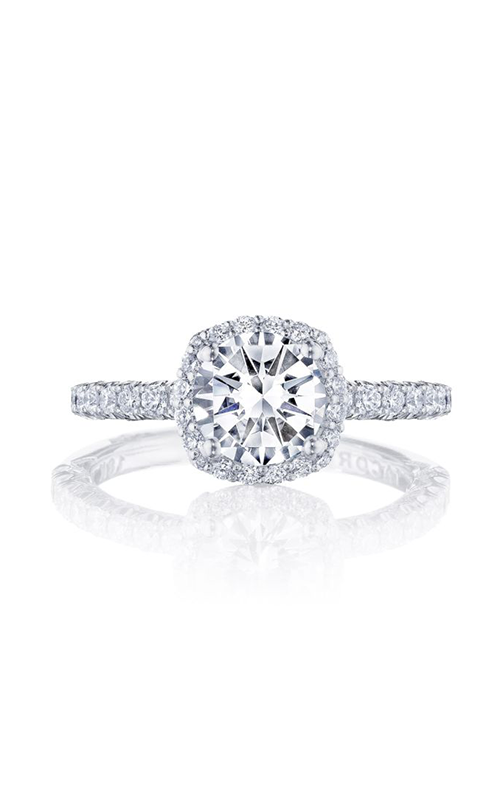 Tacori Petite Crescent Engagement ring HT2572CU65PK product image