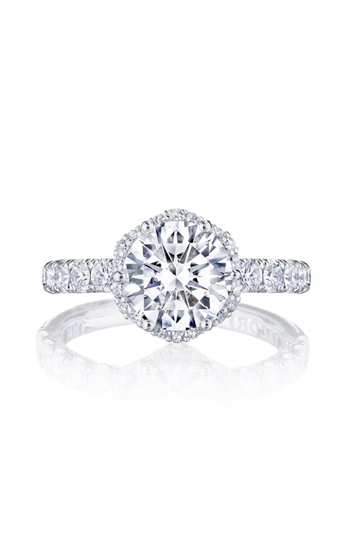 Tacori Petite Crescent Engagement ring HT257225RD8PK product image