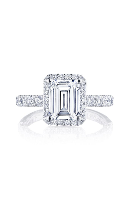 Tacori Petite Crescent Engagement ring HT257225EC85X65PK product image