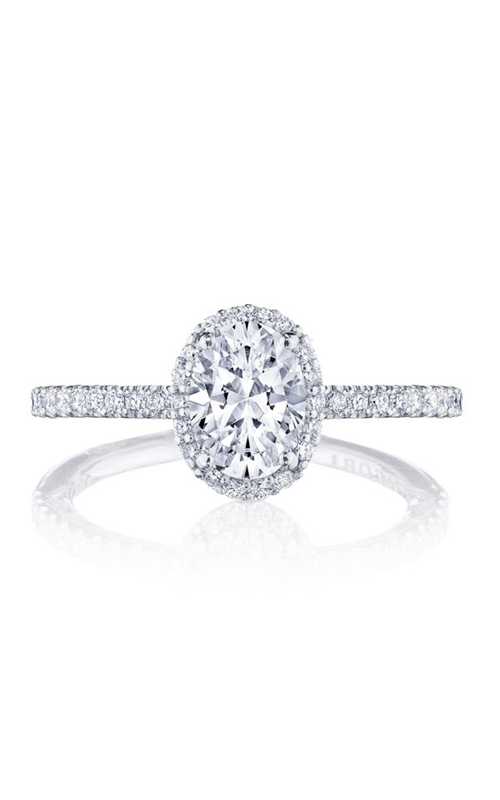 Tacori Petite Crescent Engagement ring HT257215OV75X55W product image