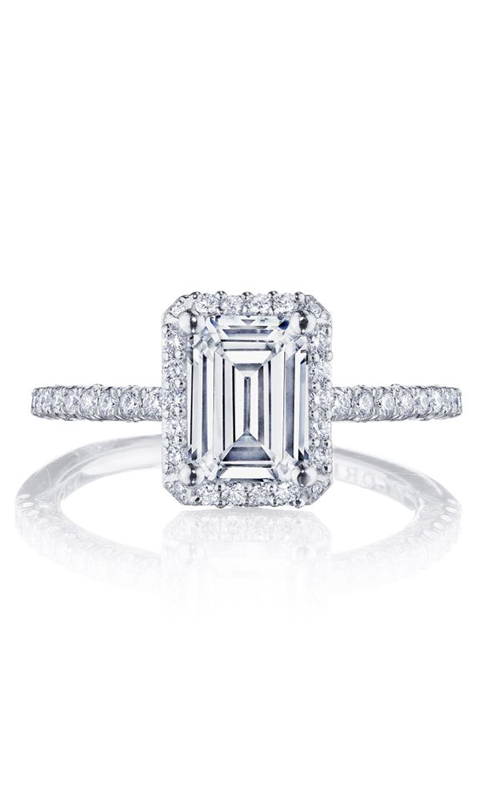 Tacori Petite Crescent Engagement ring HT257215EC75X55PK product image