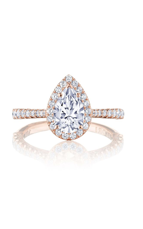 Tacori Petite Crescent Engagement ring HT2571PS85X55W product image
