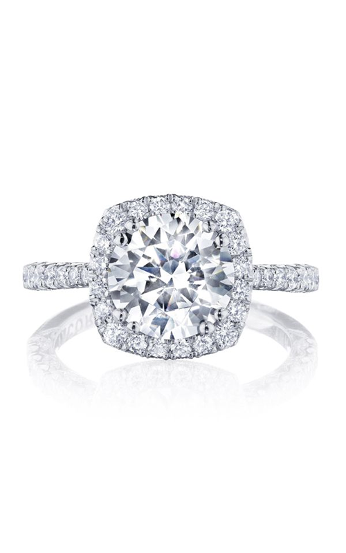 Tacori Petite Crescent Engagement ring HT2571CU85PK product image