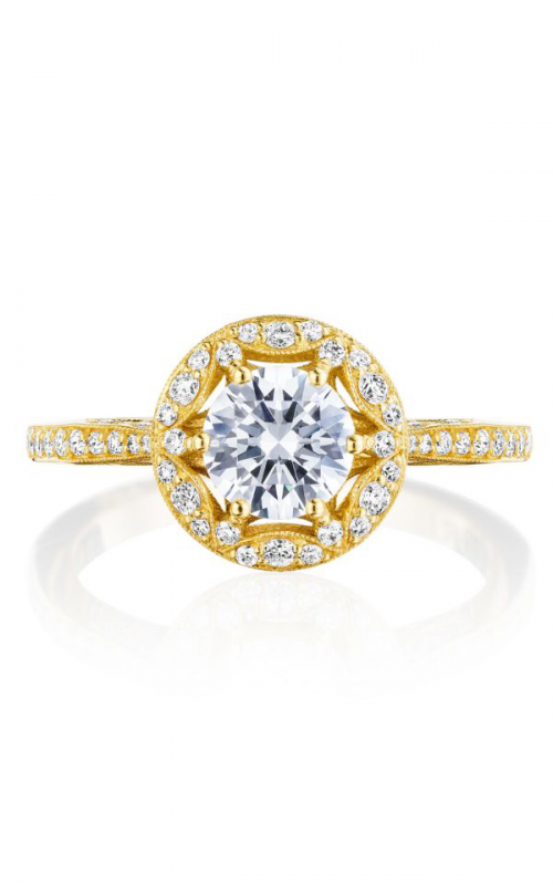 Tacori Crescent Chandelier Engagement ring HT2568RD6Y product image