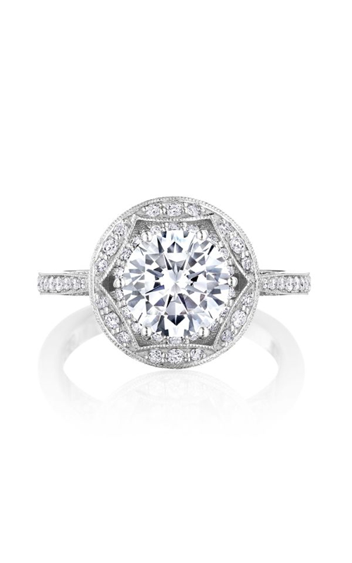 Tacori Crescent Chandelier Engagement ring HT2564RD8W product image
