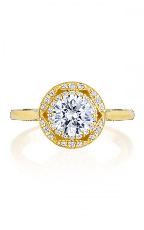 Tacori Crescent Chandelier engagement ring HT2563RD65Y product image