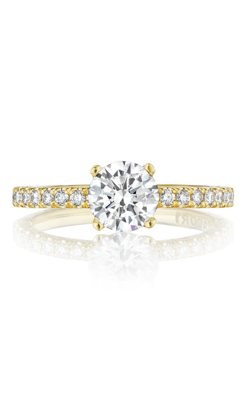 Tacori Petite Crescent Engagement ring HT2545RD65PK product image