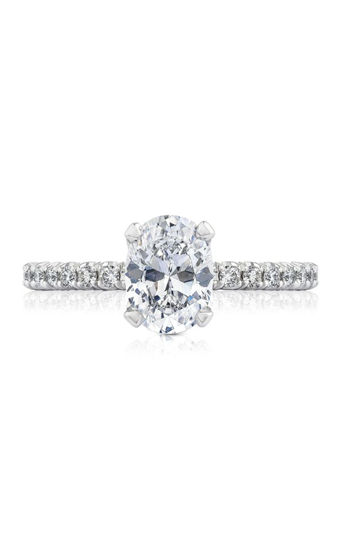 Tacori Petite Crescent Engagement ring HT2545OV85X65PK product image