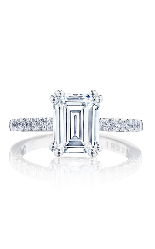 Tacori Coastal Crescent engagement ring P1042EC85X65FW product image