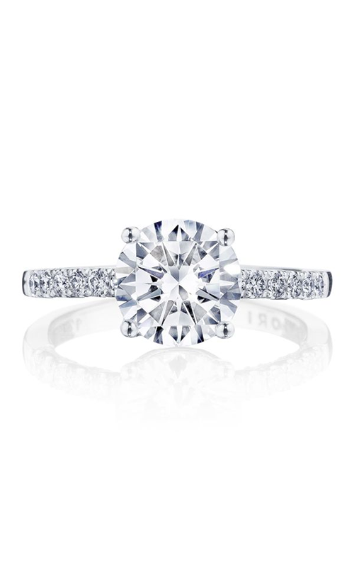 Tacori Coastal Crescent engagement ring P1042RD8FW product image