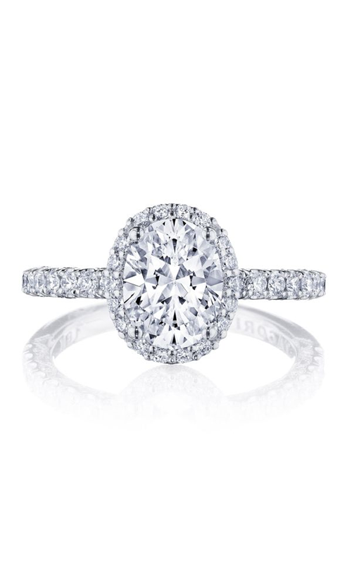 Tacori Petite Crescent Engagement ring HT2572OV85X65W product image