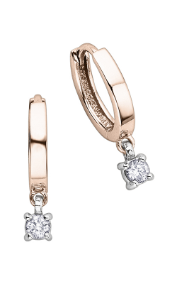 I am Canadian™ Diamond Hoop Earrings EE1872RW/25-10 product image