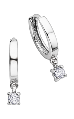 I am Canadian™ Diamond Hoop Earrings EE1872W/25-10 product image