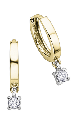 I am Canadian™ Diamond Hoop Earrings EE1872YW/25-10 product image
