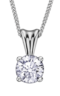 I am Canadian™ Diamond Solitaire Pendant PP2345W/25C product image